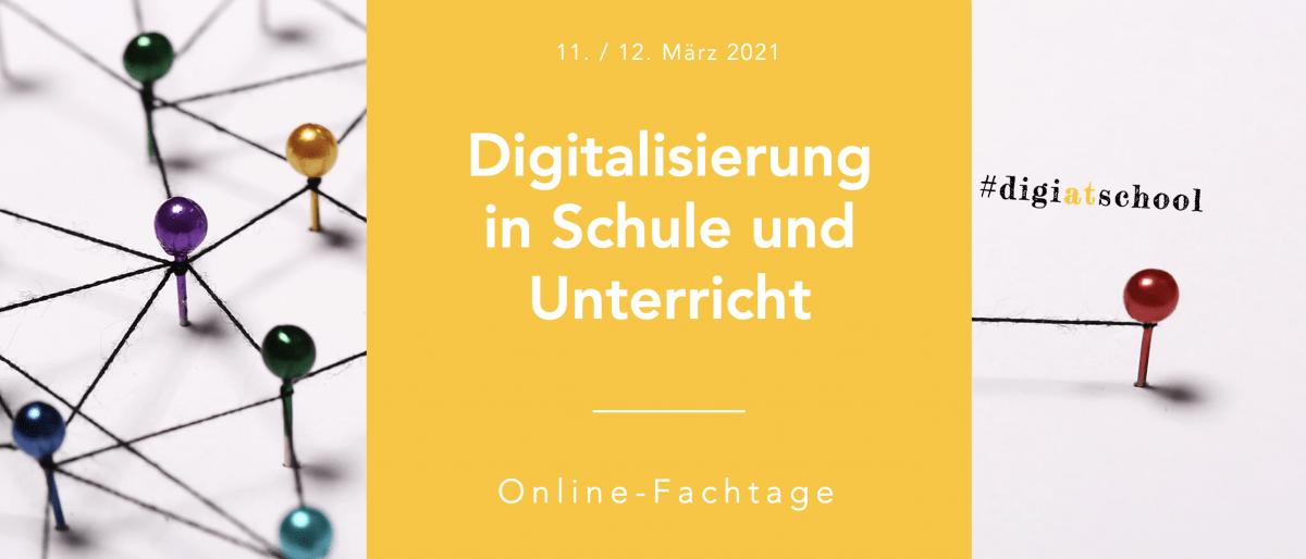 Permalink auf:Online-Fachtage: Digitalisierung in Schule und Unterricht